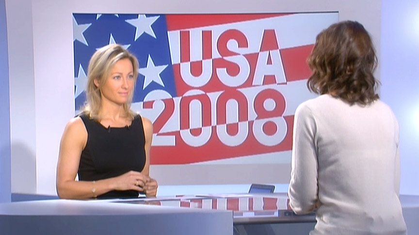 Anne-Sophie Lapix 19/10/2008
