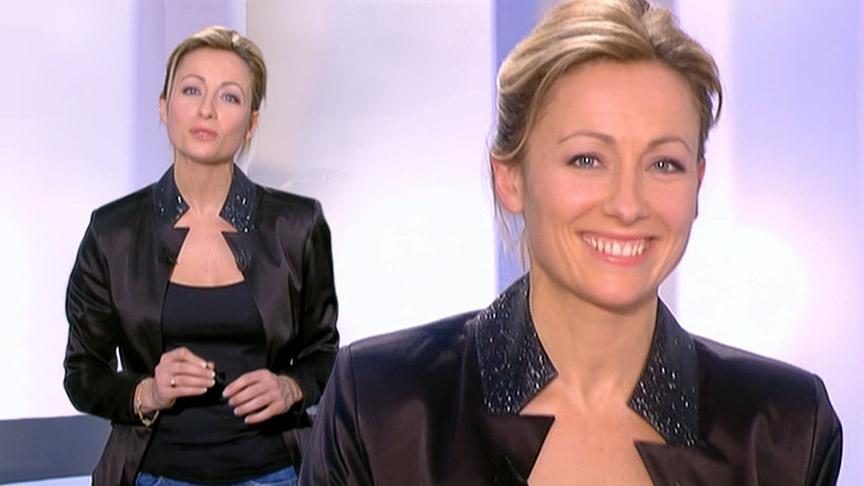 Anne-Sophie Lapix 18/01/2009