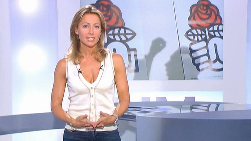 Anne-Sophie Lapix 14/06/2009