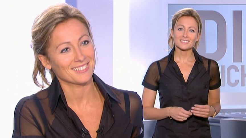 Anne-Sophie Lapix 18/10/2009