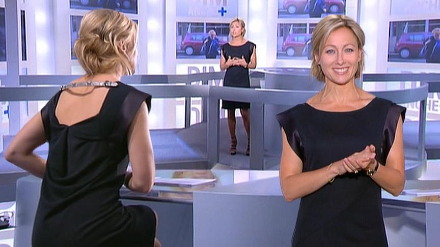 Anne-Sophie Lapix 25/04/2010