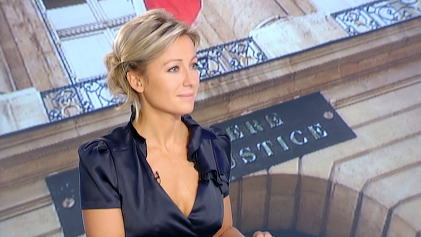 Anne-Sophie Lapix 03/10/2010