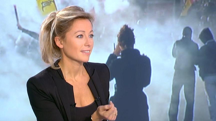 Anne-Sophie Lapix 17/10/2010