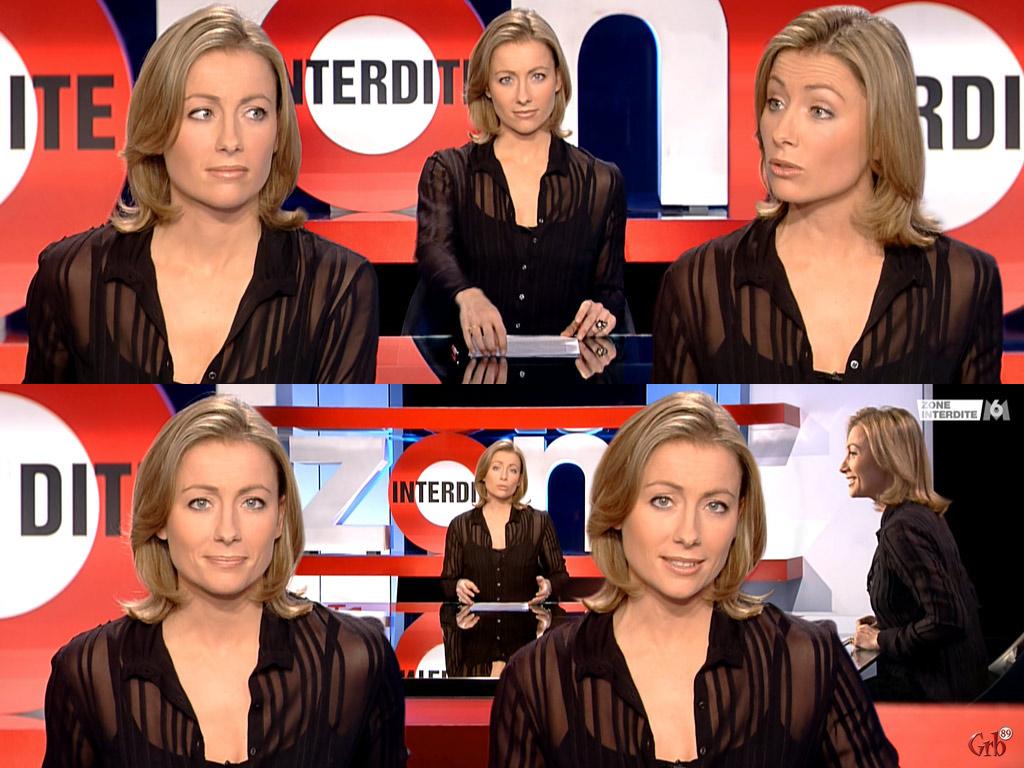 Anne-Sophie Lapix 12/03/2006