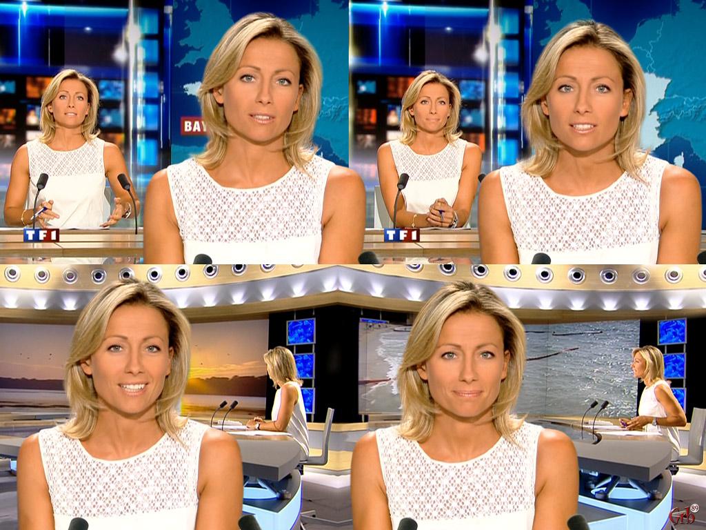 Anne-Sophie Lapix 03/08/2007