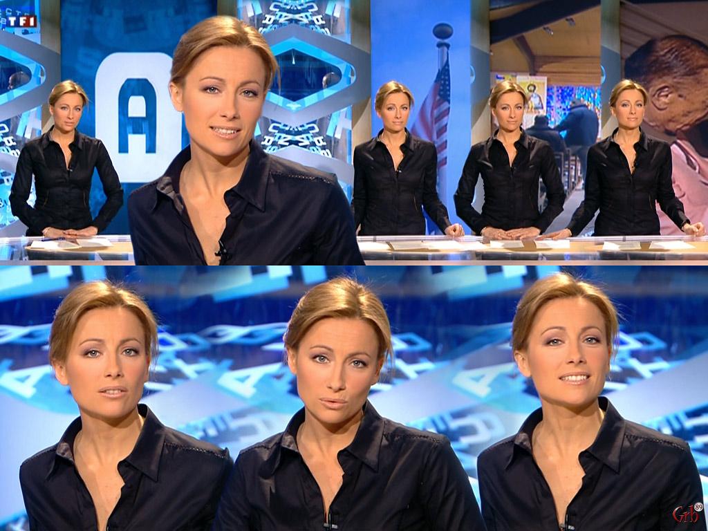 Anne-Sophie Lapix 17/02/2008