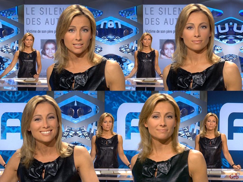 Anne-Sophie Lapix 04/05/2008