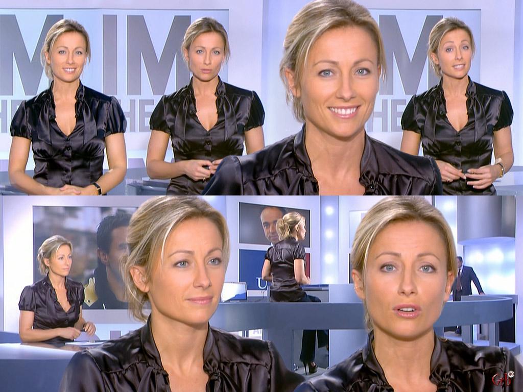 Anne-Sophie Lapix 12/10/2008