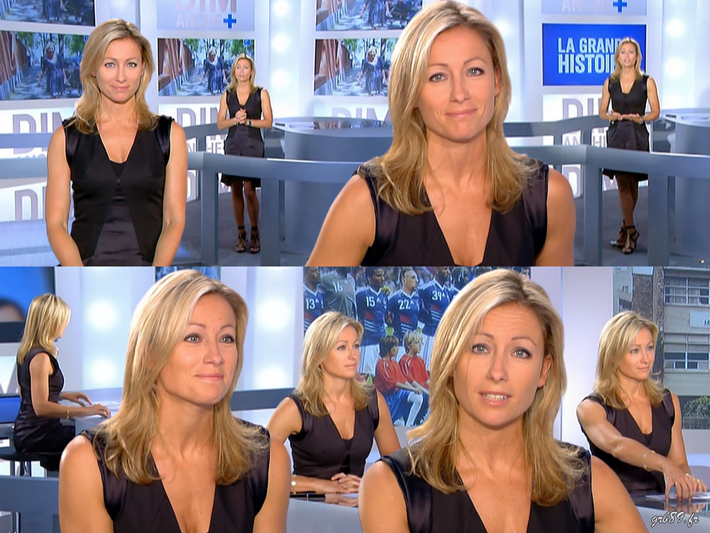 Anne-Sophie Lapix 06/06/2010
