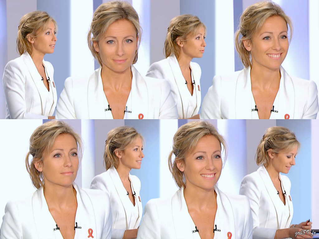 Anne-Sophie Lapix 03/04/2011