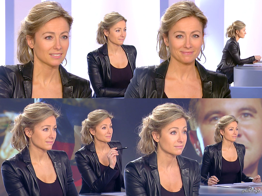 Anne-Sophie Lapix 26/02/2012