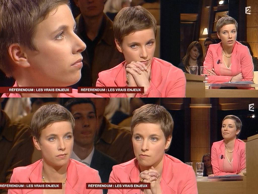 Clémentine Autain 11/04/2005