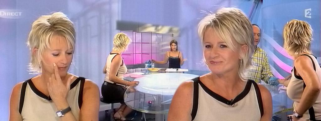 Sophie Davant 07/09/2004