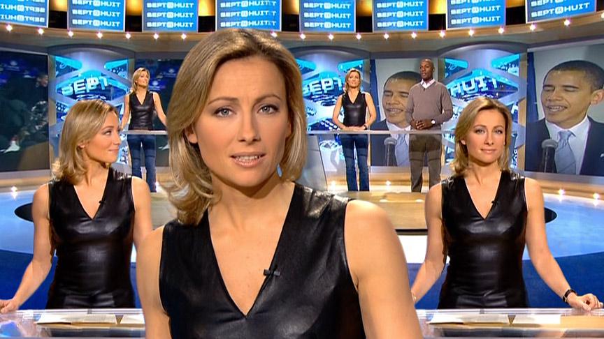 Anne-Sophie Lapix 13/01/2008