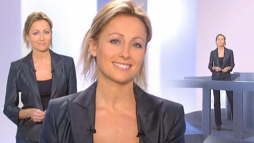 Anne-Sophie Lapix 15/03/2009