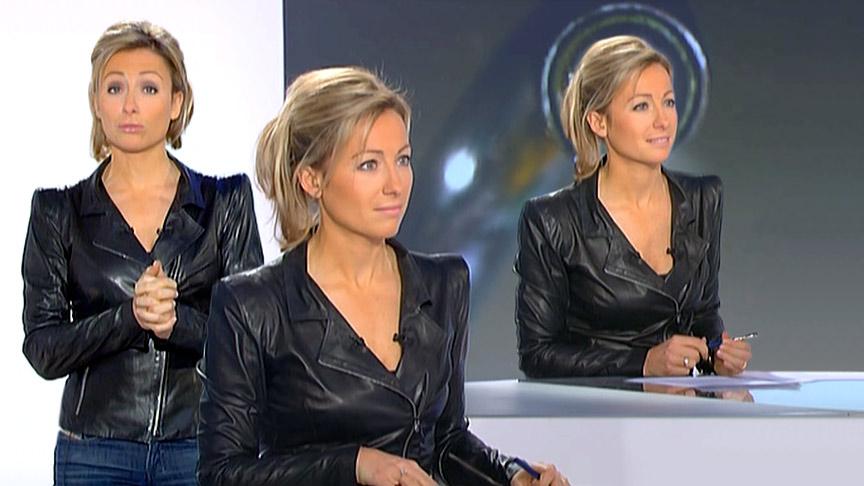 Anne-Sophie Lapix 23/01/2011