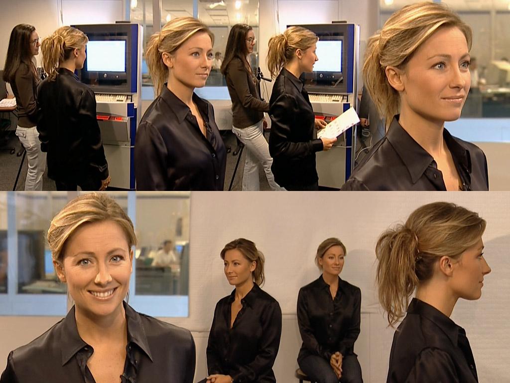 Anne-Sophie Lapix 09/10/2005