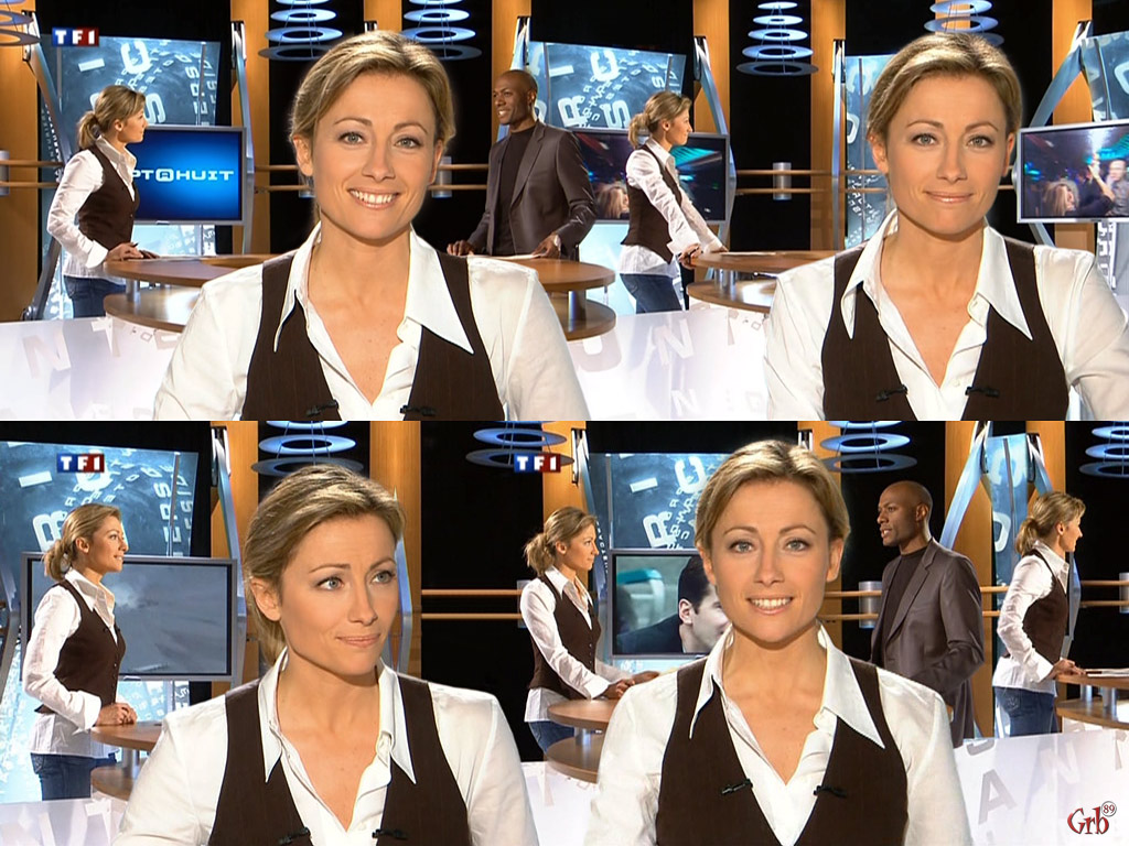 Anne-Sophie Lapix 21/01/2007