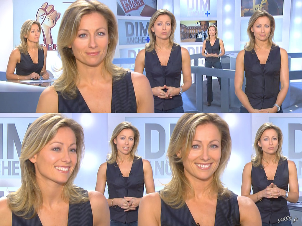 Anne-Sophie Lapix 22/02/2009