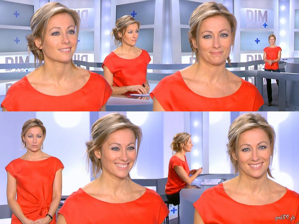 Anne-Sophie Lapix 21/02/2010
